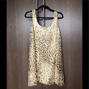 Sequin / Leopard Combo Dress